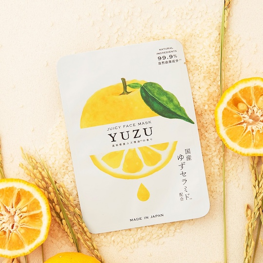Yuzu Juicy Citrus Fruit Face Pack