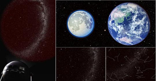 Homestar Pro 2nd Edition Home Planetarium, Blue Earth and Moon