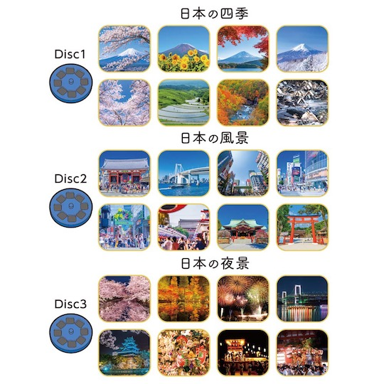 Nippon Projector Japanese Landscape Viewer