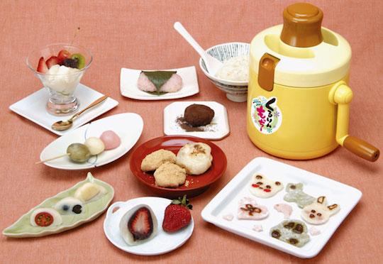 Kururin Mocchi Rice Cake Maker