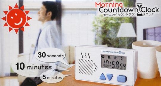 Morning Countdown Clock