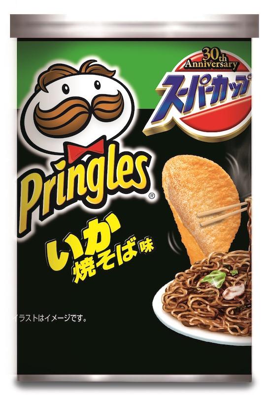 Pringles Flavor Instant Noodles (10 Pack)