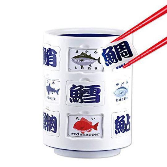 Fish Kanji Teacup Puzzle