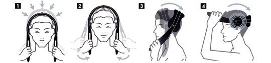 Akaishi Kopf Massager für Männer