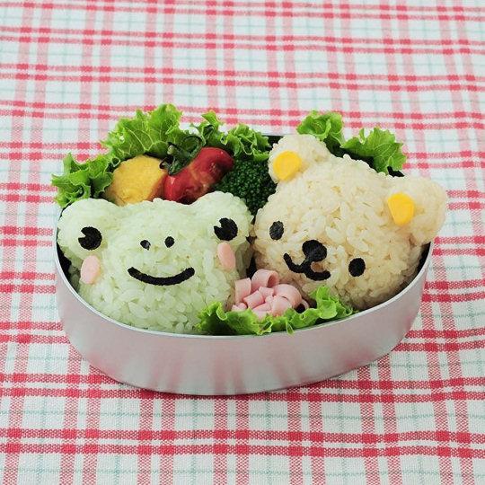 Bear and Friends Bento Lunchbox Art Set