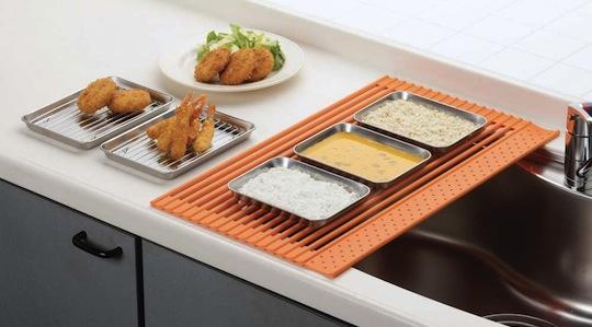 Kurukuru Round & Round Dish Rack