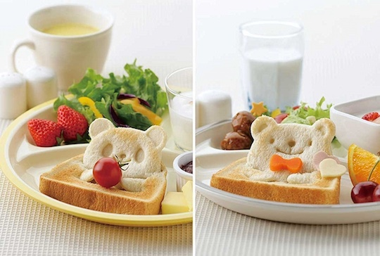 Pan de Pop Up Animal Face Bread Cutter Molds