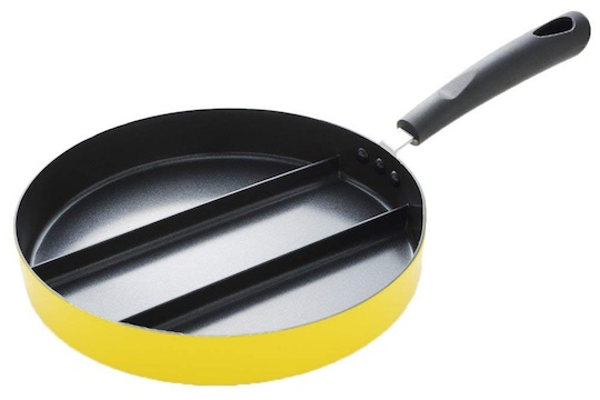 Divided Frying Pan for Tamagoyaki Omelette