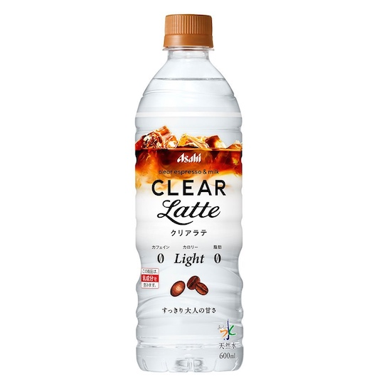 Asahi Clear Latte Coffee-Flavored Water (Pack of 12)