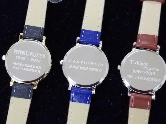 Japan Railways Sleeper Car Express Trains Wristwatch