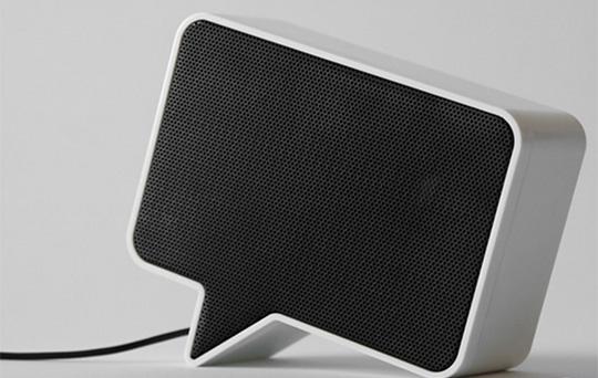 Speak-er Speech Bubble Speakers