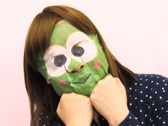 Kero Kero Keroppi Narikiri Face Pack