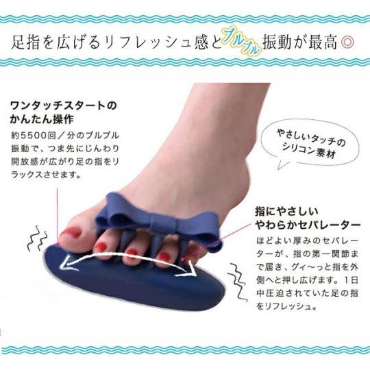 Lourdes BuRuRu Ribbon Toes Massager