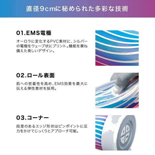 Atex Lourdes Style EMS Poweroll Massage Roller