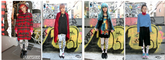Japan Trend Shop Hello Kitty Avantgarde Tattoo Tights
