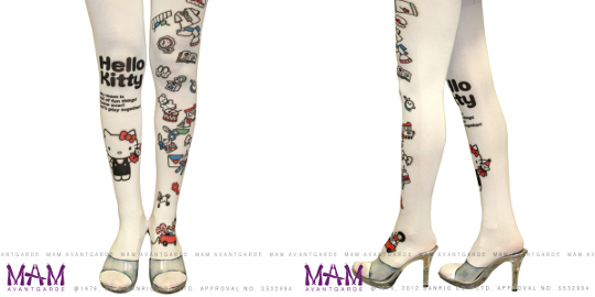 japan trend shop hello kitty avantgarde tattoo tights. Black Bedroom Furniture Sets. Home Design Ideas
