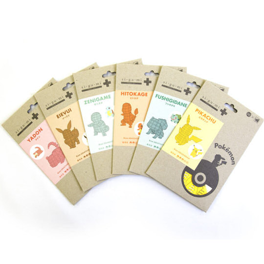 Azone Pokemon Paper Craft Figures