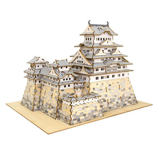 Ki-Gu-Mi Himeji Castle Color Model