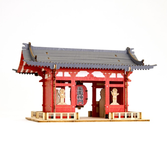 Ki-Gu-Mi Kaminarimon Color Wooden Model