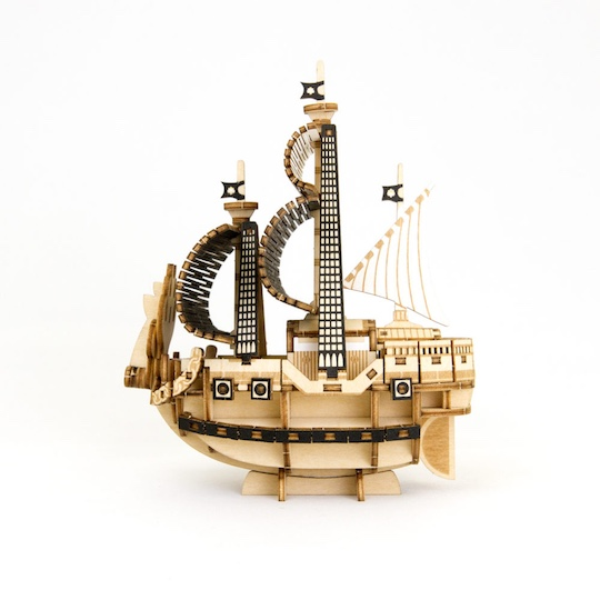 One Piece Ships Wooden Models