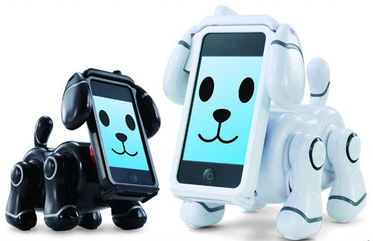 japan trend shop bandai smartpet robot dog