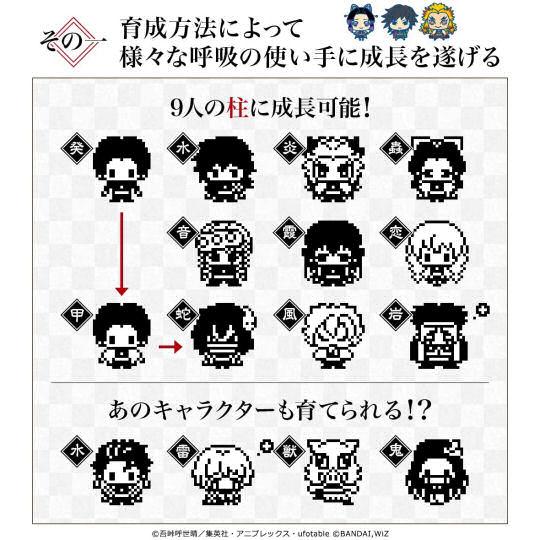 Demon Slayer: Kimetsu no Yaiba Tamagotchi Zenitsu