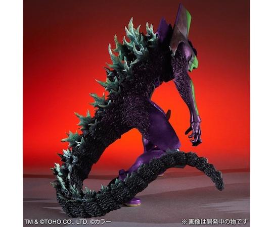 Godzilla vs Evangelion Toho 30cm Series Eva Unit-01 G Awakening