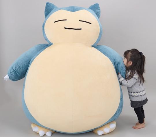 Giant Snorlax Pokemon Cushion