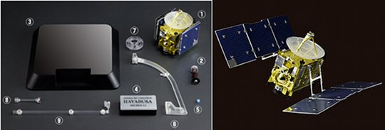 Hayabusa Spacecraft Model Kit