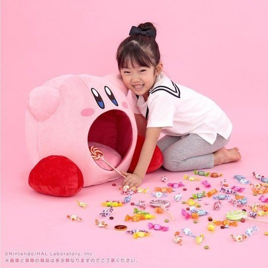 Kirby Inhale Big Plush Cushion