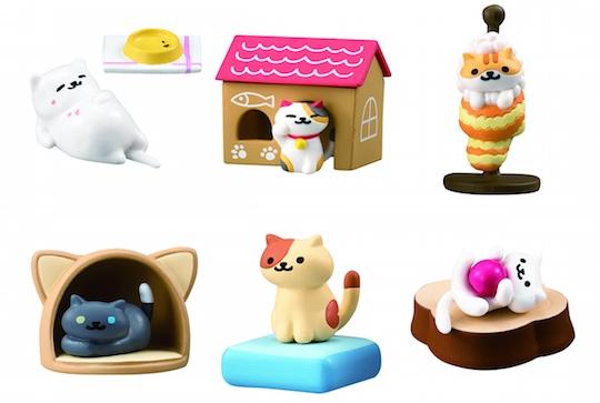 Neko Atsume Kitty Collector Figures Set