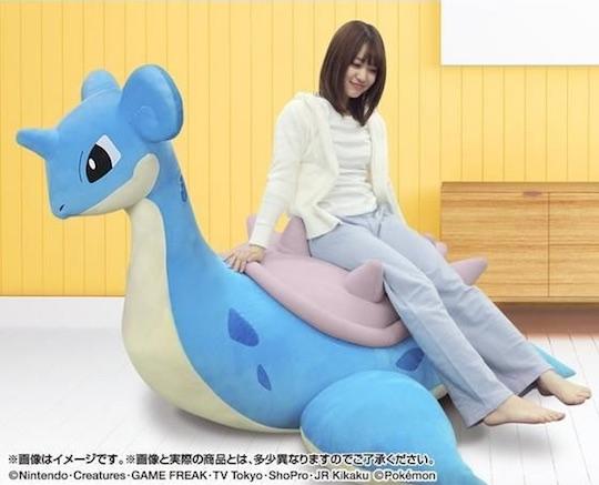 Pokemon Lapras Inflatable Plushie Giant Sofa