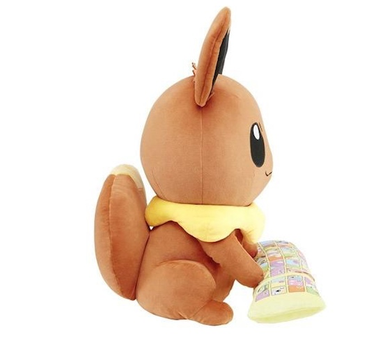 Pokemon PC Cushion Pikachu, Meowth, Eevee