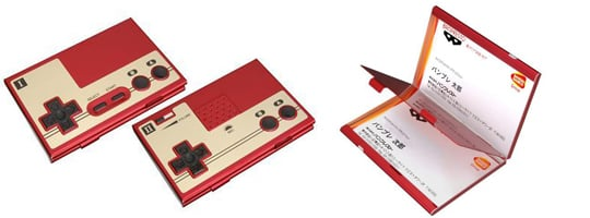 Famicom Business Card Holder Japan Trend Shop