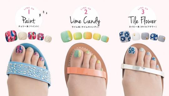 Japan Trend Shop Toenail Art Polish Stockings