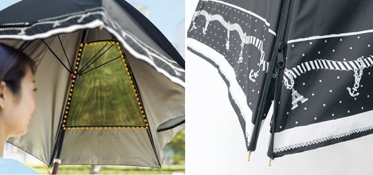 Sports Match Rain or Shine Umbrella Parasol