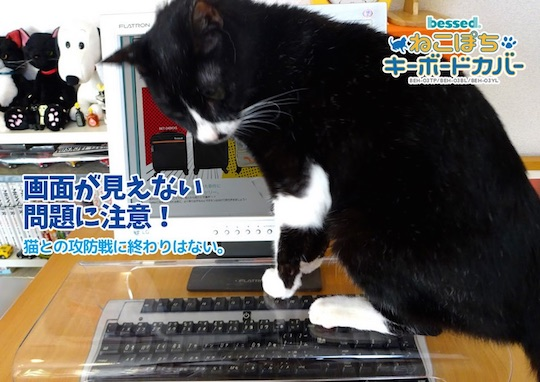 Neko Pochi Anti-Cat Keyboard Cover