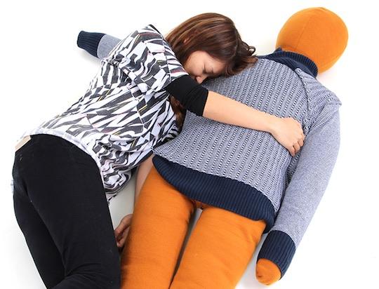 Cotton Wife and Husband Hug Pillows