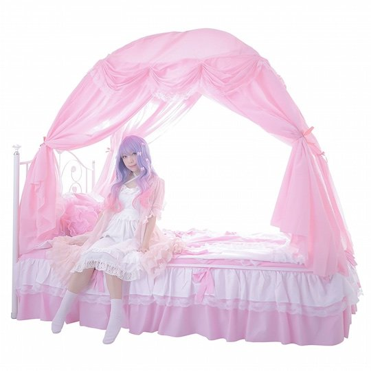 Kawaii Canopy Bed Tent For Summer And Winter Japan Trend