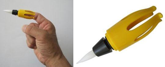 Yubi-fude Finger Pinsel