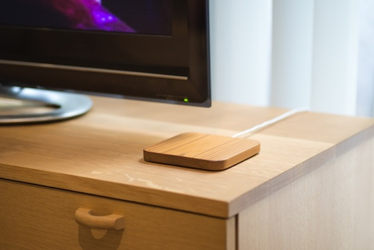 Rest Wooden Wireless Charging Pad