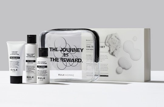 Bulk Homme Face Care Travel Set