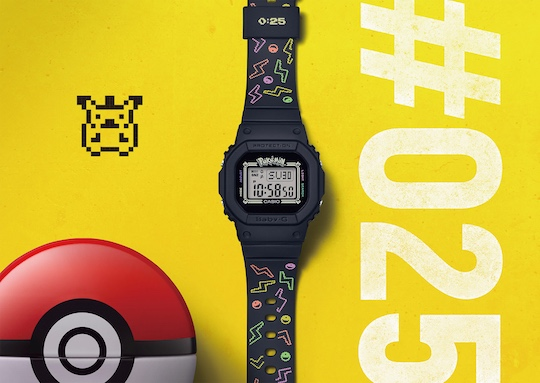 Baby-G Pokemon Watch