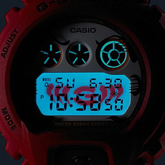 Casio G-Shock DW-6900DA-4JR Daruma Mens Watch