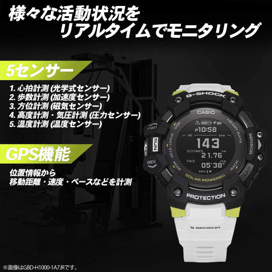Casio G-Shock GBD-H1000-7A9JR Fitness Watch