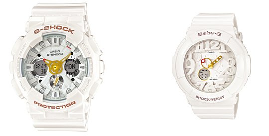 how to set date on baby g watch