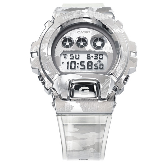 Casio G-Shock GM-6900SCM-1JF Skeleton Camouflage Watch