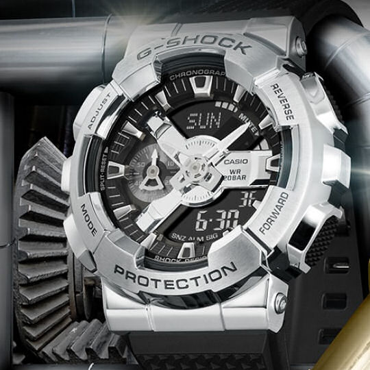 Casio G-Shock GM-110-1AJF Mens Watch