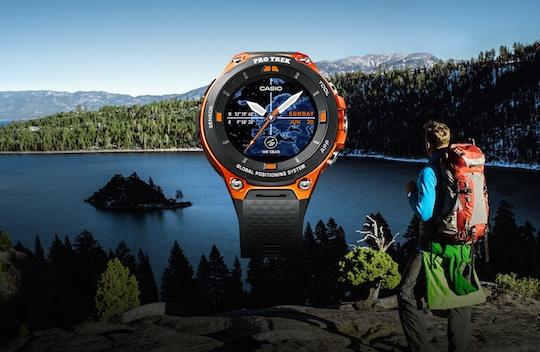 Casio Outdoor GPS Watch WSD-F20