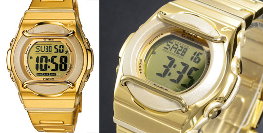 Casio G-Ms Gloss Gold